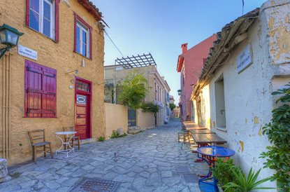 Strolling Up and Down Plaka, the Neighborhood of the Gods